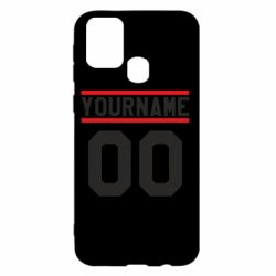 Чохол для Samsung M31 Yourname USA