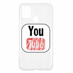 Чохол для Samsung M31 YouTube