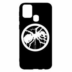 Чехол для Samsung M31 Жирный муравей