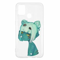 Чохол для Samsung M31 Zombie girl with beetles