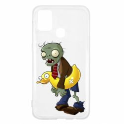 Чехол для Samsung M31 Zombie with a duck