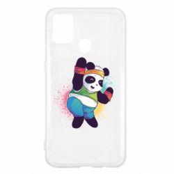 Чохол для Samsung M31 Zumba Panda
