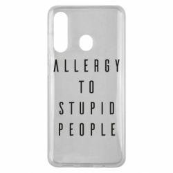 Чехол для Samsung M40 Allergy To Stupid People