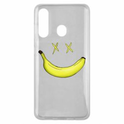 Чехол для Samsung M40 Banana smile
