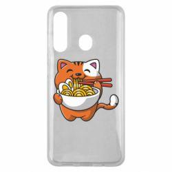 Чохол для Samsung M40 Cat and Ramen