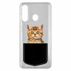 Чехол для Samsung M40 Cat in your pocket