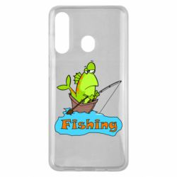 Чехол для Samsung M40 Fish Fishing