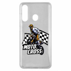 Чехол для Samsung M40 Motocross