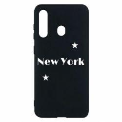 Чехол для Samsung M40 New York and stars