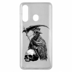 Чехол для Samsung M40 Plague Doctor graphic arts