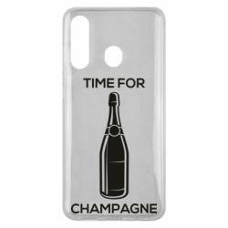 Чохол для Samsung M40 Time for champagne