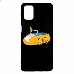 Чехол для Samsung M51 Adventure time 4