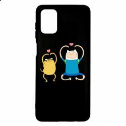 Чохол для Samsung M51 Adventure time