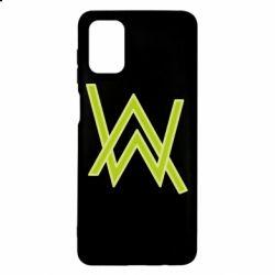 Чехол для Samsung M51 Alan Walker neon logo