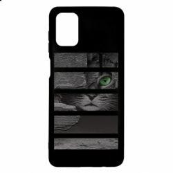 Чехол для Samsung M51 All seeing cat