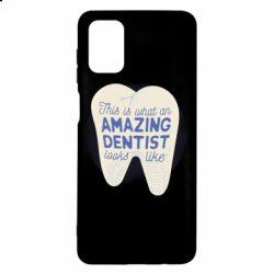 Чохол для Samsung M51 Amazing Dentist