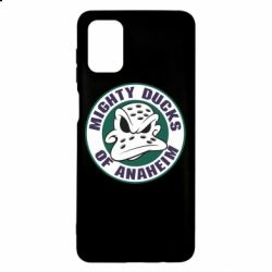 Чехол для Samsung M51 Anaheim Mighty Ducks Logo