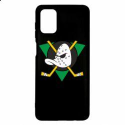 Чехол для Samsung M51 Anaheim Mighty Ducks