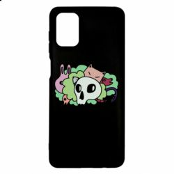 Чехол для Samsung M51 Animals and skull in the bushes