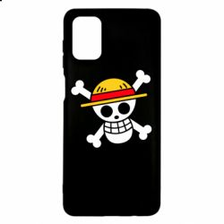 Чохол для Samsung M51 Anime logo One Piece skull pirate