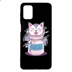Чехол для Samsung M51 AntiDepressant Cat