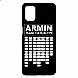 Чехол для Samsung M51 Armin Van Buuren Trance