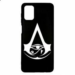 Чохол для Samsung M51 Assassin's Creed Origins logo