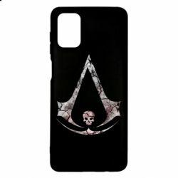 Чехол для Samsung M51 Assassins Creed and skull