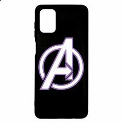 Чехол для Samsung M51 Avengers and simple logo