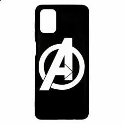 Чохол для Samsung M51 Avengers logo