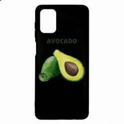 Чехол для Samsung M51 Avocado watercolor
