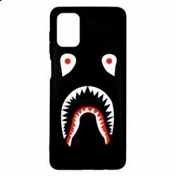 Чехол для Samsung M51 Bape shark logo