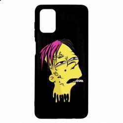 Чехол для Samsung M51 Bart as Lil Peep