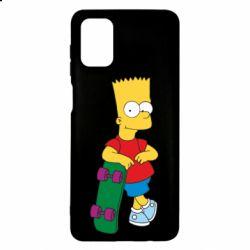Чохол для Samsung M51 Bart Simpson