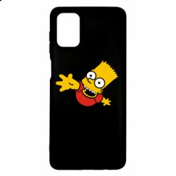 Чехол для Samsung M51 Барт Симпсон