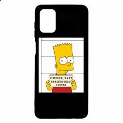 Чехол для Samsung M51 Барт в тюряге