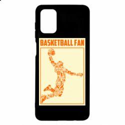 Чохол для Samsung M51 Basketball fan