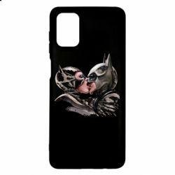 Чехол для Samsung M51 Batman and Catwoman Kiss