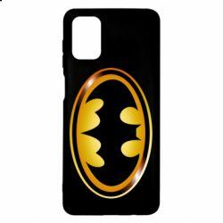 Чохол для Samsung M51 Batman logo Gold