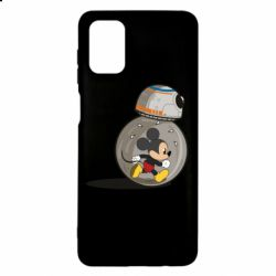Чехол для Samsung M51 BB-8 and Mickey Mouse