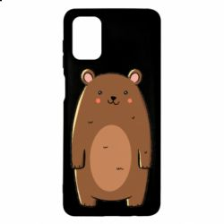 Чехол для Samsung M51 Bear with a smile