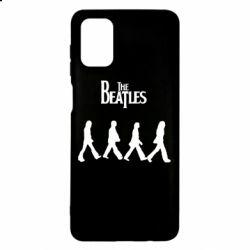 Чохол для Samsung M51 Beatles Group