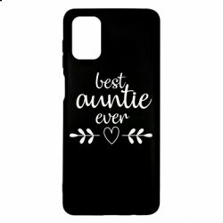 Чохол для Samsung M51 Best auntie ever