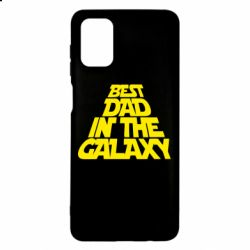 Чехол для Samsung M51 Best dad in the galaxy