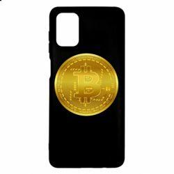 Чохол для Samsung M51 Bitcoin coin