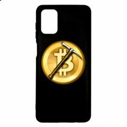 Чохол для Samsung M51 Bitcoin Hammer