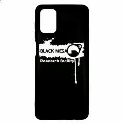 Чехол для Samsung M51 Black Mesa
