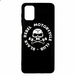 Чехол для Samsung M51 Black Rebel Motorcycle Club