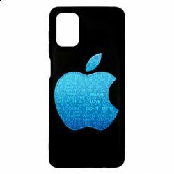 Чехол для Samsung M51 Blue Apple