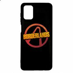 Чехол для Samsung M51 Borderlands logotype